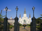 Jackson Square, New Orleans, Louisiana, USA Photographic Print by Charles Bowman