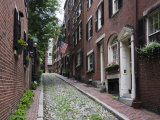 Acorn Street, Beacon Hill, Boston, Massachusetts, USA Photographic Print by Amanda Hall