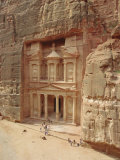 The Treasury, Petra, Jordan, Middle East Photographic Print by Julia Bayne