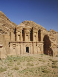 The Monastery, Petra, Jordan, Middle East Photographic Print by Julia Bayne