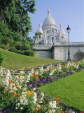 Sacre Coeur, Paris, France, Europe Photographic Print by Hans Peter Merten