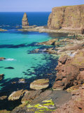 Coastal Sea Cliffs and Sea Stacks Near Cape Wrath and Sandwood Bay, Highland Region, Scotland Photographic Print by Duncan Maxwell