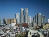 Shinjuku Skyline, Tokyo, Honshu, Japan, Asia Photographic Print by Adina Tovy