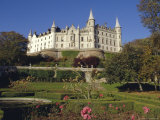 Dunrobin Castle and Grounds, Near Golspie, Scotland, UK, Europe Photographic Print by Julia Thorne
