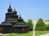 Orthodox Church, Dobroslava, Slovakia, Europe Photographic Print by Upperhall Ltd