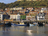 Harbour, Seaside Resort and Castle, Scarborough, Yorkshire, England, UK, Europe Photographic Print by Adina Tovy
