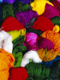 Traditional Indian Wool, Solola, Guatemala, Central America Photographic Print by Upperhall Ltd