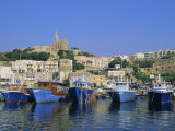 Mgarr Harbour, Gozo, Malta, Mediterranean, Europe Photographic Print by Hans Peter Merten