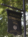 Boston Common, Boston, Massachusetts, USA Photographic Print by Amanda Hall