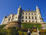 Dunrobin Castle and Grounds, Near Golspie, Sutherland, Highlands Region, Scotland, UK, Europe Photographic Print by Julia Thorne