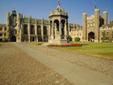 The Great Court, Trinity College, Cambridge, England Photographic Print by Steve Bavister