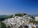 View of Village from Hillside, Casares, Malaga, Andalucia (Andalusia), Spain, Europe Photographic Print by Ruth Tomlinson