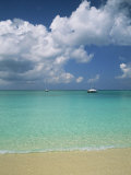 Still Turquoise Sea off Seven Mile Beach, Grand Cayman, Cayman Islands, West Indies Photographic Print by Ruth Tomlinson