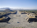 Pyramids of San Juan, Teotihuacan, Mexico Photographic Print by Adina Tovy