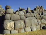 Outer Walls of Sacsayhuaman Inca Fortress, Cuzco, Peru, South America Photographic Print by Christopher Rennie