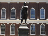 Portrait of Samuel Adams, Faneuil Hall, Boston, Massachusetts, USA Photographic Print by Amanda Hall