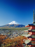 Fuji with Mt. Fuji in the Background, Japan Photographic Print by Adina Tovy