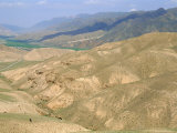 Sary Bulak, Mountains Towards Lakeson-Kul, Kyrgyzstan, Central Asia Photographic Print by Upperhall Ltd