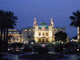 The Casino by Night, Monte Carlo, Monaco, Europe Photographic Print by Ruth Tomlinson