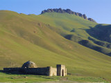 South of Naryn, Tash Rabat Caravanserai, Kyrgyzstan, Central Asia Photographic Print by Upperhall Ltd