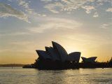 The Sydney Opera House in the Evening, Sydney, New South Wales, Australia Photographic Print by Adina Tovy