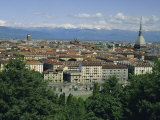 City Centre and the Alps, Torino (Turin), Piemonte (Piedmont), Italy, Europe Photographic Print by Duncan Maxwell