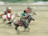 Polo Players in the Birthplace of Polo, Chitral, Pakistan, Asia Photographic Print by Upperhall Ltd