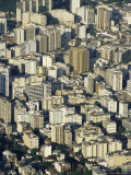 Aerial View of Skyscrapers in Centro (Downtown), Rio De Janeiro, Brazil, South America Photographic Print by Upperhall Ltd