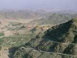 View into Afghanistan from the Khyber Pass, North West Frontier Province, Pakistan, Asia Photographic Print by Upperhall Ltd