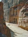 The Treasury, Nabatean Archaeological Site, Petra, Jordan, Middle East Photographic Print by Jj Travel Photography