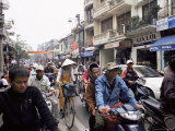 Busy Street, Hanoi, Vietnam, Indochina, Southeast Asia, Asia Photographic Print by Upperhall Ltd