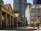 Quincy Market by Faneuil Hall, Boston, Massachusetts, USA Photographic Print by Amanda Hall