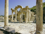 Hadrian's Temple, Ephesus, Turkey, Eurasia Photographic Print by Jj Travel Photography