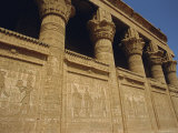 Temple of Hathor, Dendera, Egypt, North Africa Photographic Print by Julia Bayne