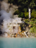 Sea Hell (Umi-Jigoku), Natural Hot Springs (Onsen), Beppu, Kyushu, Japan Photographic Print by Steve Bavister
