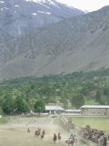 The Birthplace of Polo, Chitral, North West Frontier Province, Pakistan, Asia Photographic Print by Upperhall Ltd