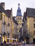 Evening in the Place De La Liberte, Sarlat-La-Caneda, Dordogne, Aquitaine, France, Europe Photographic Print by Ruth Tomlinson