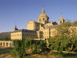 Eastern Facade of the Monastery Palace of El Escorial, Unesco World Heritage Site, Madrid, Spain Photographic Print by Upperhall Ltd