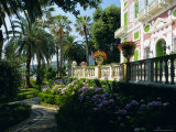 Gardens of the Villa Durazzo, Santa Margherita Ligure, Portofino Peninsula, Liguria, Italy, Europe Photographic Print by Ruth Tomlinson