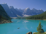 Valley of the Ten Peaks, Moraine Lake, Banff National Park, Rocky Mountains, Alberta, Canada Photographic Print by Hans Peter Merten