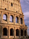 The Colosseum at Sunset, Rome, Lazio, Italy, Europe Photographic Print by Ruth Tomlinson