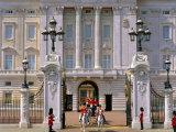 Carriage Leaving Buckingham Palace, London, England, UK Photographic Print by Adina Tovy