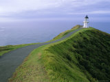 Lighthouse, Cape Reinga, Northland, North Island, New Zealand, Pacific Photographic Print by Jeremy Bright