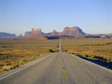 Road to Monument Valley, Navajo Reserve, Utah, USA Photographic Print by Adina Tovy