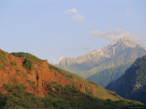 Near Kara-Kol, Dzhety-Oguz, Kyrgyzstan, Central Asia Photographic Print by Upperhall Ltd
