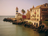 The Lighthouse, Cascais, Estremadura, Portugal, Europe Photographic Print by Firecrest Pictures