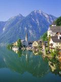 Hallstatt, Salzkammergut, Austria Fotografisk trykk av Roy Rainford