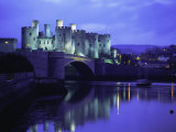 Conwy (Conway) Castle, Unesco World Heritage Site, Gwynedd, North Wales, UK, Europe Photographic Print by Roy Rainford