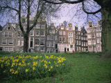 Begijnhof, Amsterdam, Holland (The Netherlands), Europe Photographic Print by I Vanderharst