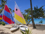 Sail Boats, Galley Bay, Antigua, Caribbean, West Indies, Central America Photographic Print by Firecrest Pictures